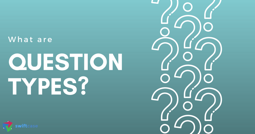 What are question types?